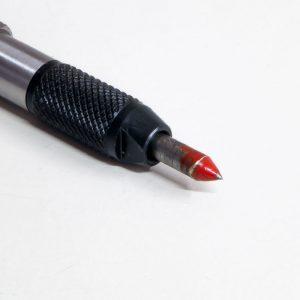 Gradina de 3 puntas para micromartillo Cuturi P de boca 5mm para labores de talla y detalle.
